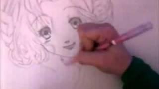 Drawing Euphemia Li Britannia (Code Geass)