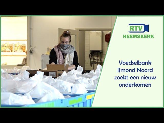 Voedselbank IJmond Noord zoekt nieuw onderkomen
