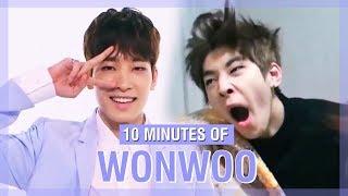 10 MINUTES OF SEVENTEEN WONWOO'S FUNNY MOMENTS