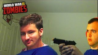 WW2 ZOMBIES - FIRST ROOM 1v1 TO THE DEATH w/ MRDALEKJD!!!! (Call of Duty WW2 Zombies)