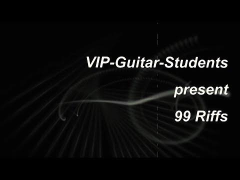 "VIP-Guitar Students ""99 Riffs"""
