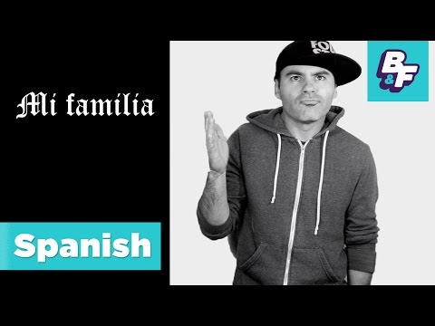 Learn family members in Spanish with BASHO & FRIENDS [Viewer's Choice] - Mi familia