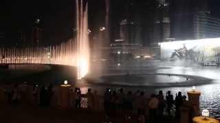 The Dubai Fountain - Hossam Ramzy & His Egyptian Ensemble - Enta Omri - September 13, 2014