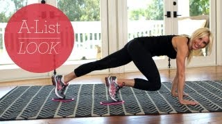 Commercial Break Ab Exercise | A-List Look With Valerie Waters