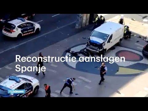 Reconstructie aanslagen Spanje - RTL NIEUWS