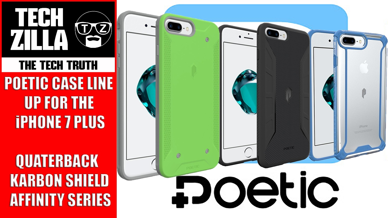 IPhone 7 Plus Poetic Case Line Up