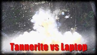 Tannerite vs Laptop in Slowmo!