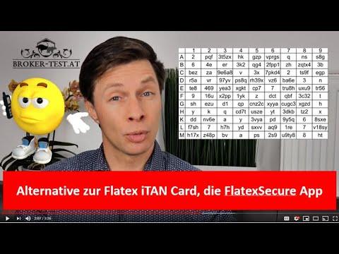 Flatex iTAN Card Alternative: FlatexSecureApp zur Freigabe von Transaktionen