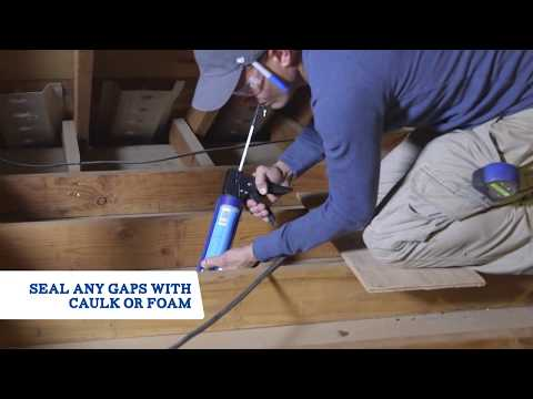 DIY Blown-In Attic Insulation - Johns Manville