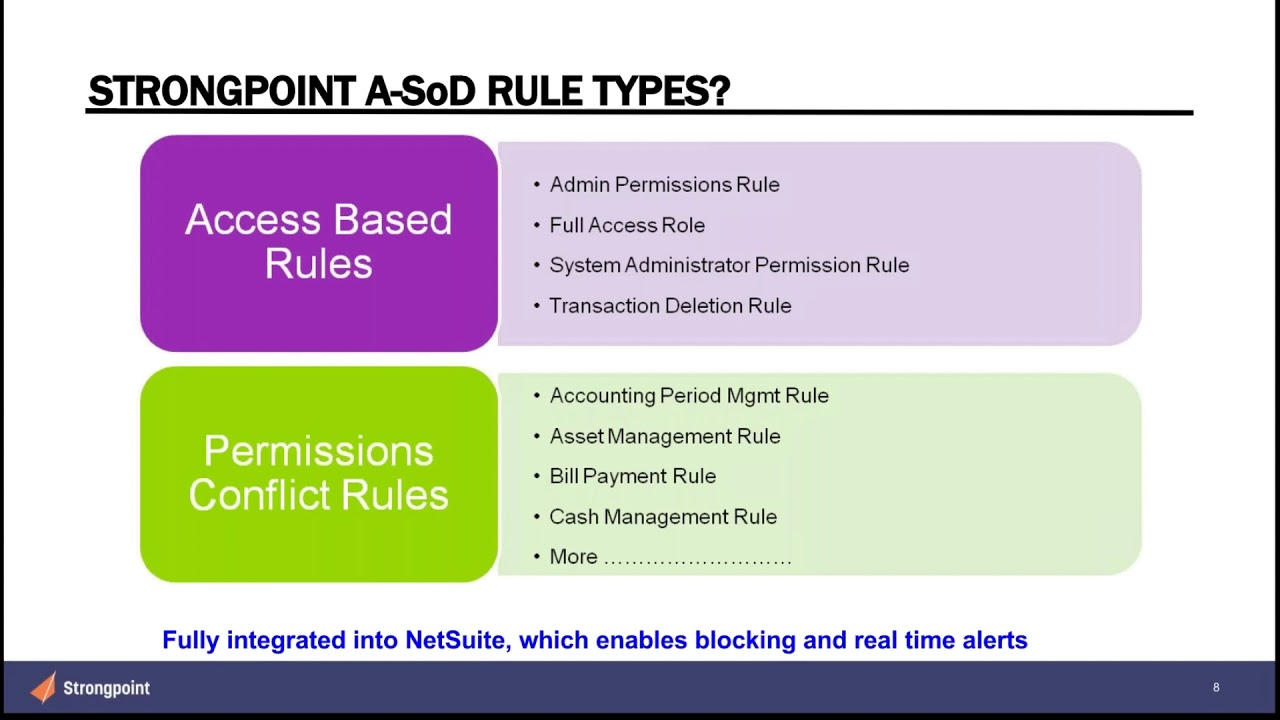 Strongpoint for NetSuite Webinar Series — Strongpoint