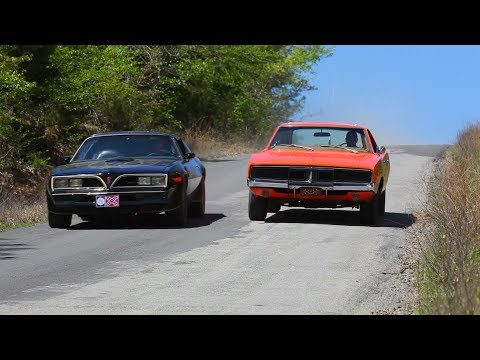 Hero Car Showdown! General Lee Dodge Charger VS Smokey and t