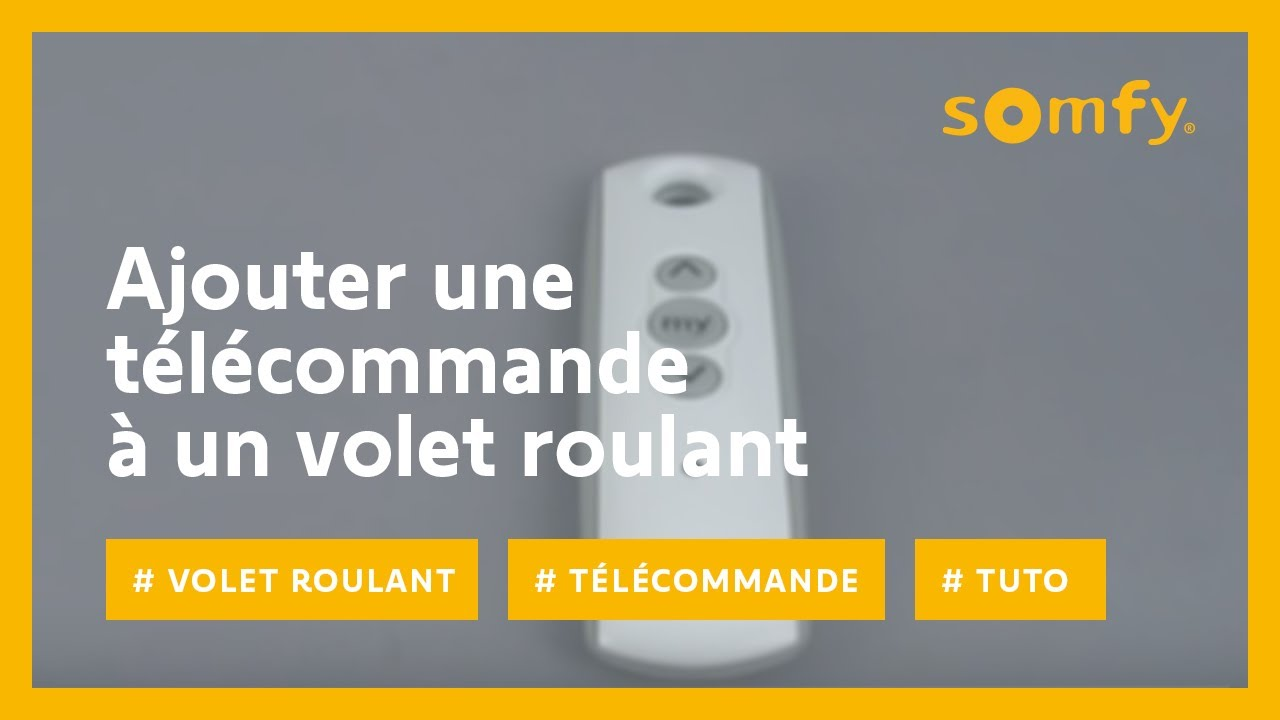 Smoove Origin Rts Volet Roulant Commande Radio La Boutique Somfy