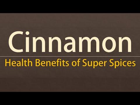 Cinnamon Spice Nutritional Facts - Health Benefits of Cinnamon - Super Spices Cinnamon