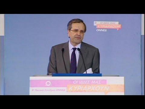 Greek PM Samaras offers partial re-opening of ERT