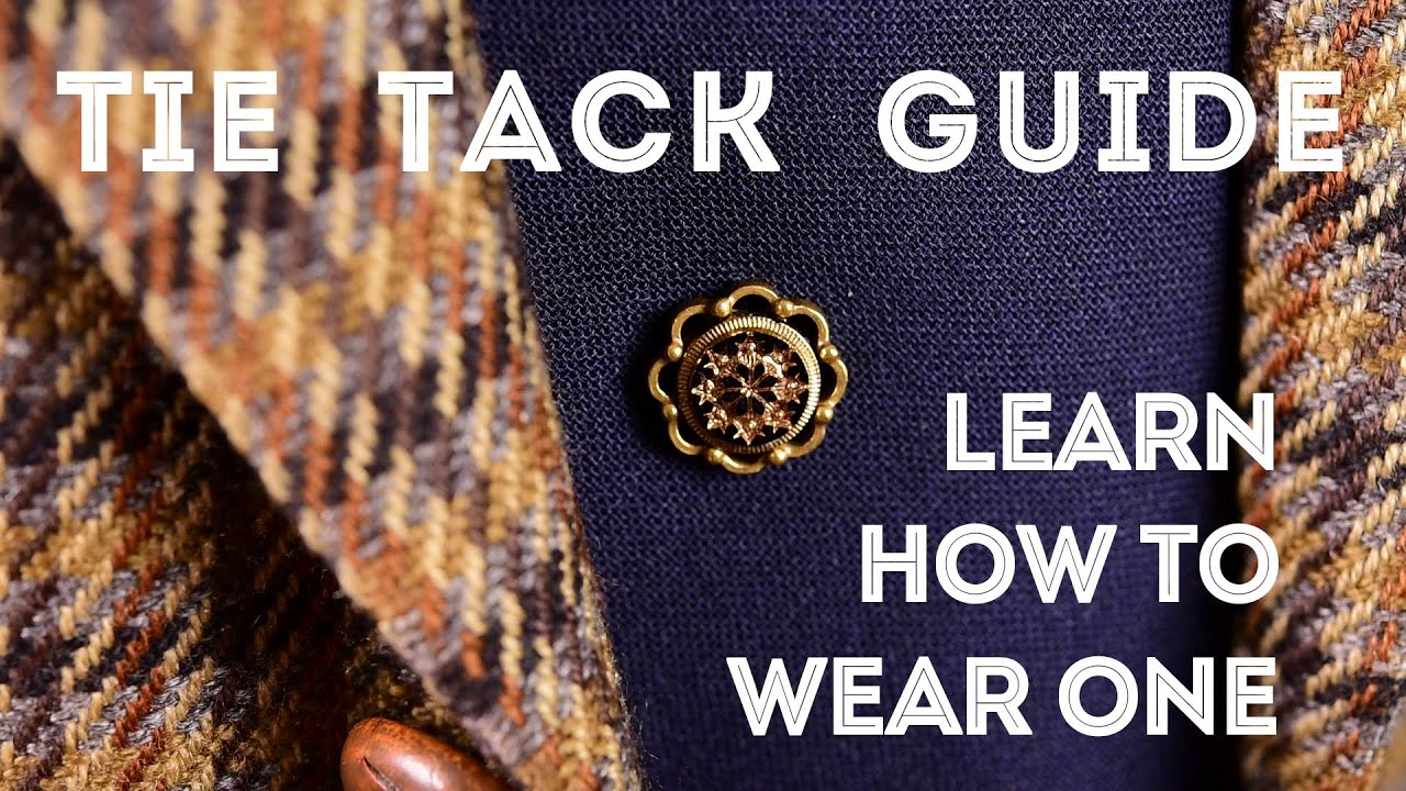 How To Wear A Tie Tack