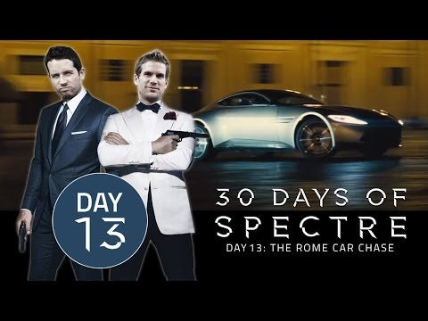 30 Days of SPECTRE #013: The Rome Car Chase | James Bond Radio