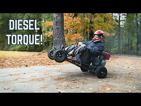Diesel Go Kart Build! | We Bought the CHEAPEST Diesel on eBay!