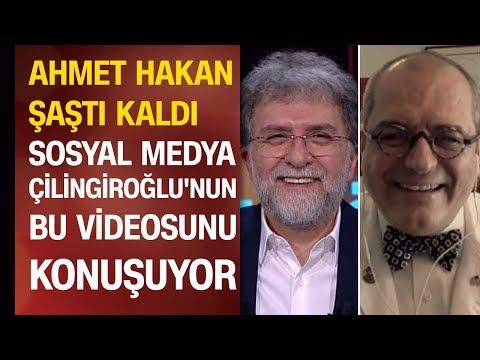 Prof. Dr. Mehmet Çilingiroğlu canlı yayında türkü söyledi, Ahmet Hakan şaştı kaldı