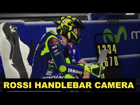 MotoGP 2018 Mod | Valentino Rossi 2018 | Handlebar Camera | TV REPLAY GAME