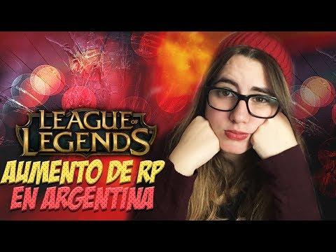 AUMENTO DE RP EN ARGENTINA - League of Legends thumbnail