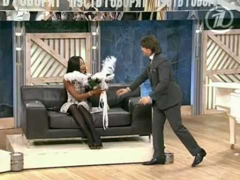 """""""Пусть говорят"""" с Naomi Campbell от 2 ноября 2010г.1/4"""