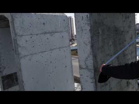 как сделать бетонную арку