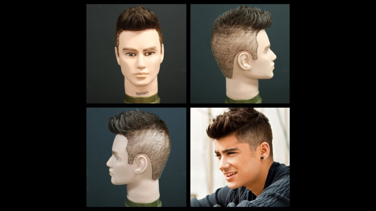 Zayn Malik Haircut Tutorial Of One Direction Thesalonguy Youtube