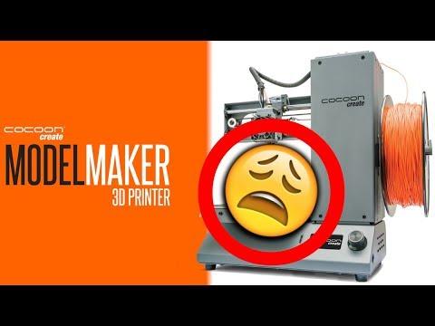 ALDI Cocoon Create Model Maker 3D Printer Fail Refund Buy Bitcoin!