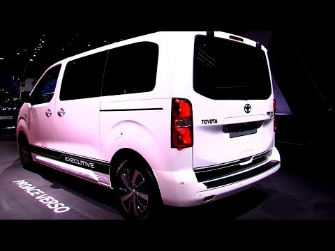 NEW TOYOTA Proace Verso Van 2.0 - Exterior And Interior