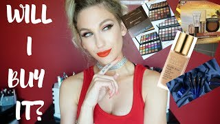 WILL I BUY IT? │ SEPHORA PRO & FAVES, ESTEE LAUDER & REAL TECHNIQUES