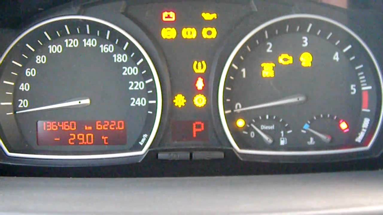 Bmw X3 E83 Cold Start 32 Youtube