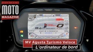 MV Agusta Turismo Veloce Lusso : les fonctionnalités du tableau de bord