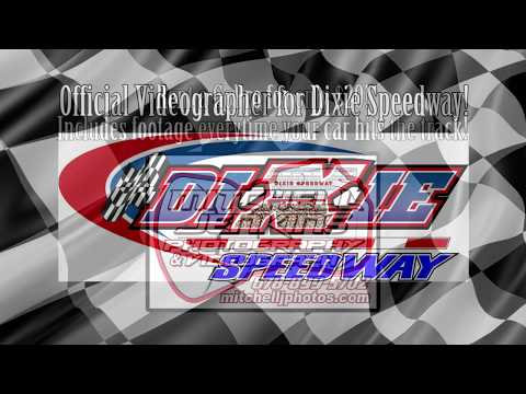 Jake Rainey Crate Latemodel In-Car Dixie Speedway 6/17/17!