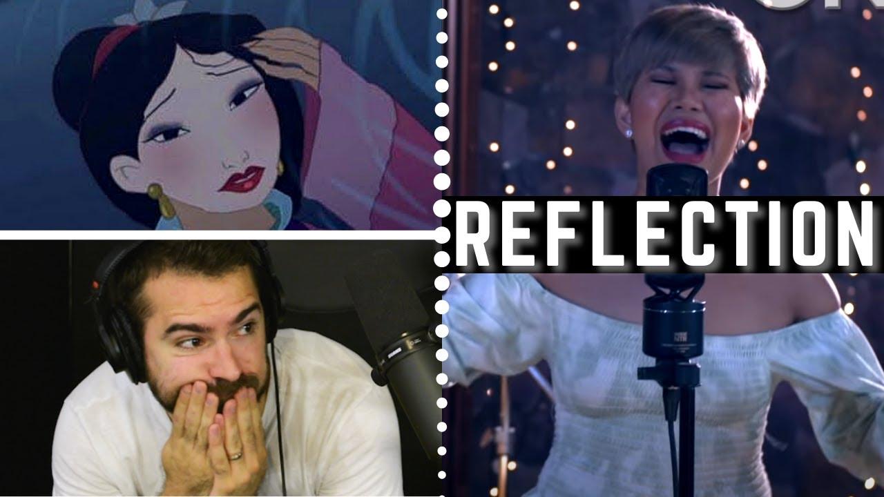 REFLECTION (MULAN) by KATRINA VELARDE - ❤️BRILLIANT VOICE❤️ - Vocal Coach Reacts