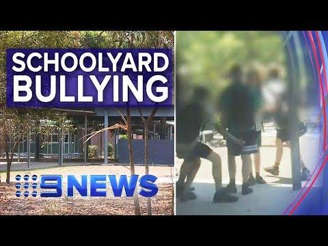 Bullies Taunting A Deaf School Boy Caught On Camera | Nine News Australia