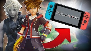 Square Enix Have BIG PLANS For the Nintendo Switch!