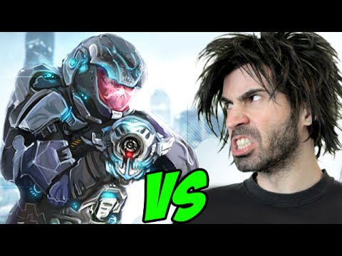PLAZMA BURST 2 vs The World's Worst Gamer!
