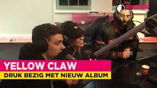 Yellow Claw: 'Hopen dat we de deadline van het nieuwe album halen.' | Bij Igmar
