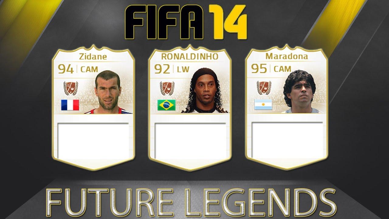 FIFA 15 - FUTURE LEGENDS Ft Zidane, Maradona + Ronaldo
