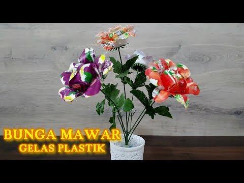 Смотреть видео Cara Membuat Bunga Mawar dari Gelas Plastik  debb4bdf5d