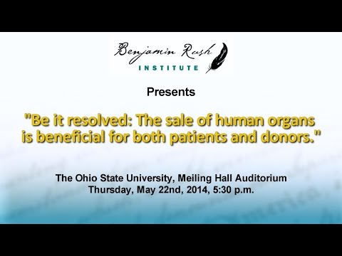 """Sale of Human Organs"" BRI-OSU Debate"
