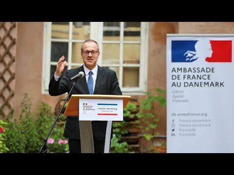 Address At The Ambassade De France Au Danemark