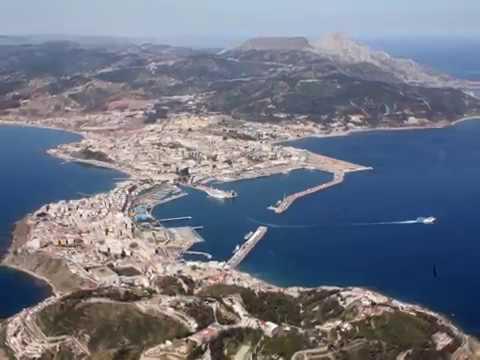 Ceuta, Spanish autonomous city, Strait of Gibraltar , 6.4 kilometer land border with M'diq-Fnideq