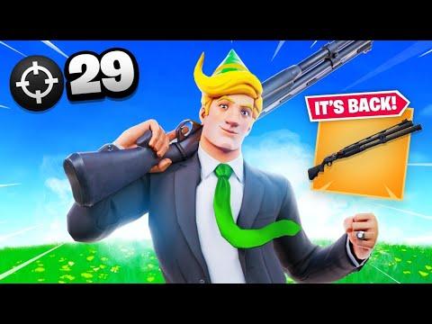 The COMBAT Shotgun Is BACK! (29 Elims)