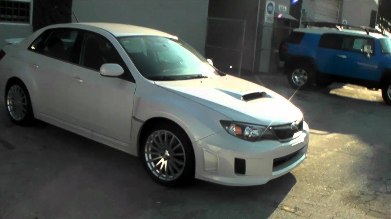 Dubsandtires Com 2012 Subaru Impreza Wrx Review 18 Inch