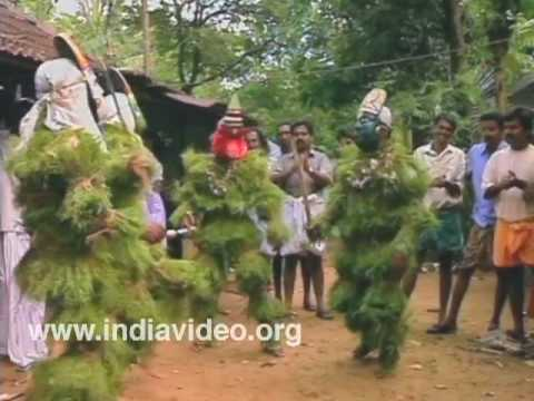Kummattikkali - A rural art form of Kerala