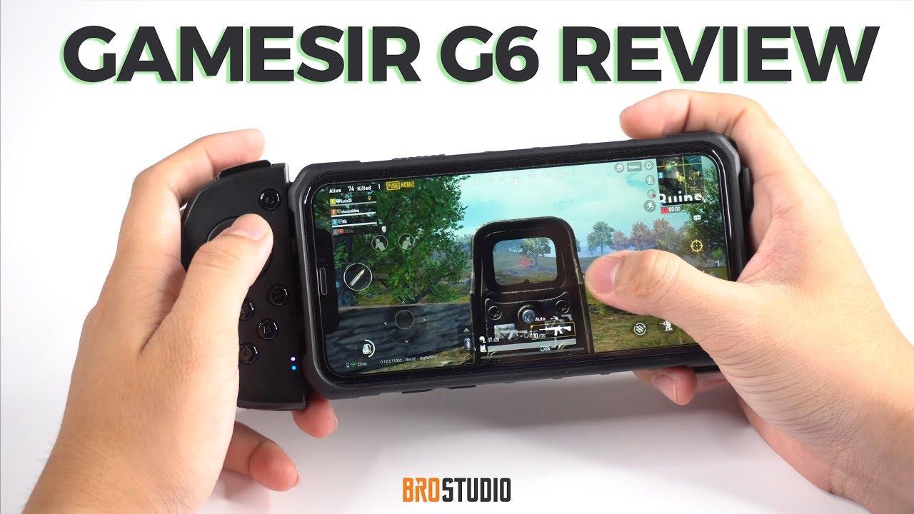 [BROSTUDIO] Gamesir G6 Review: Tay cầm chơi game ngon nhất cho iPhone