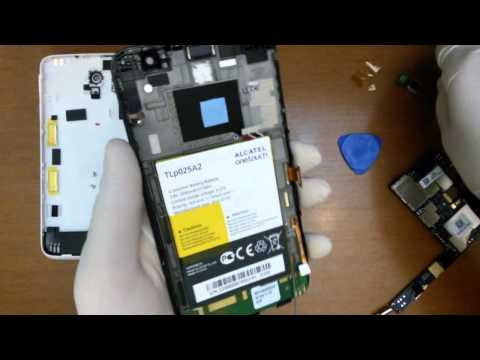 Alcatel One Touch Scribe HD disassembly
