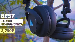 Best Studio Headphone for Video Editing, Mixing, Podcasting Under 3000₹ - MAONO AU - MH601