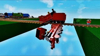 Thomas and Friends Thomas' NEW Downhill Ride! With James, Percy Gordon Roblox 2